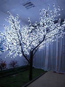 colorful waterproof decorative indoor light up tree view