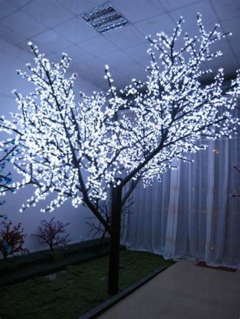 outdoor light up trees colorful waterproof decorative indoor light up tree view