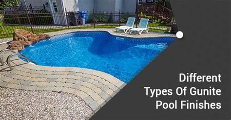 4 types of finishes for your gunite pool ferrari pools