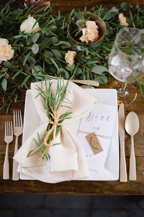 rustic wedding table settings 1000 ideas about rustic table settings on