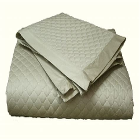 damask coverlet charter club damask full queen quilted coverlet taupe ebay