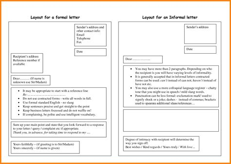 Letter In Layout 7 Informal Letter Layout Daily Task Tracker