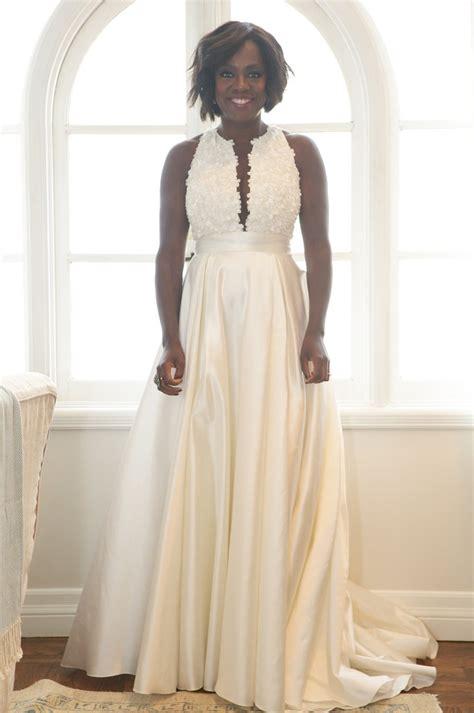 renew vows dresses on a viola davis s wedding vows renewal look instyle