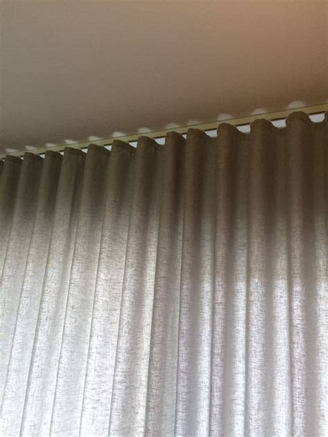 ripplefold drapery rods 17 best images about curtain on pinterest silk roman
