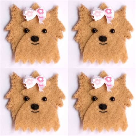 felt yorkie pattern 730 best applique images on pinterest applique designs
