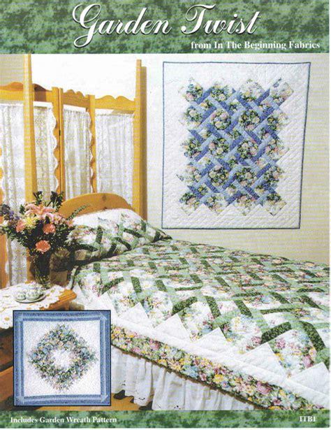 quilt pattern garden twist garden twist original quilt pattern complete by
