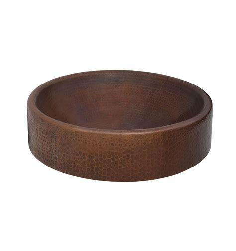 Copper Sink Baccus Black Copper Finish Sink