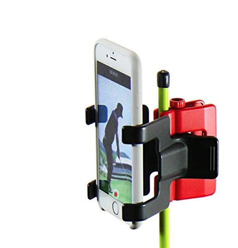 swing mobile phone recording swing selfie clip cell phone mount holder golf
