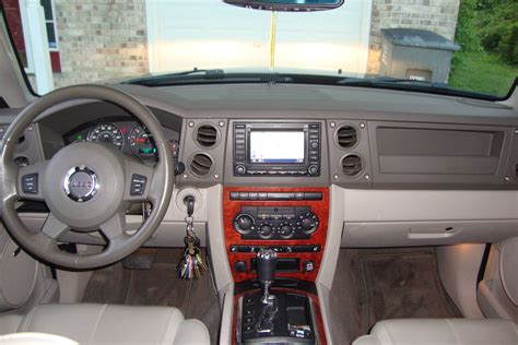 Jeep Commander Interior by 2007 Jeep Commander Interior Pictures Cargurus