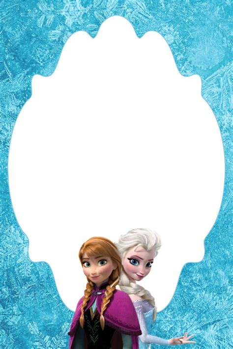 frozen birthday card template best 25 free frozen invitations ideas on