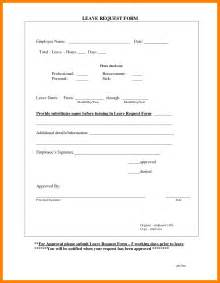 leave application template doc 12401754 sle leave application form sle