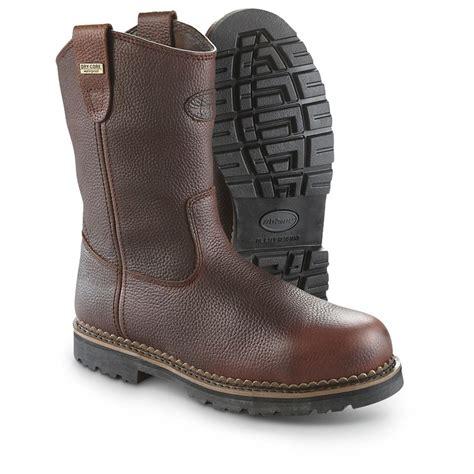 la crosse boots lacrosse waterproof foreman wellington steel toe boots