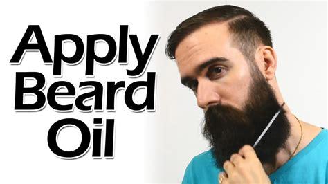 how to put in a beard how to apply beard like a