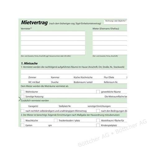 Mietvertrag Wohnung by Garagenmietvertrag Garage Mietvertrag Muster Formular