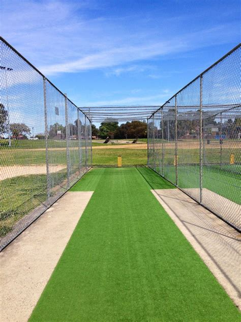 practice your spin at the outdoor cricket nets in olds