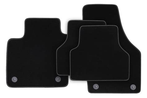 Winter Floor Mats For Cars by Winter Floor Mats For Audi Q3 From 2011 Black Lhd Only