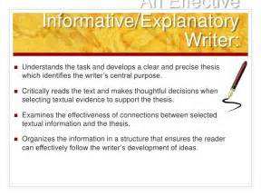 How To Write A Explanatory Essay by Common Informative Explanatory Writing