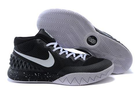 cheap nike basketball shoes nike kyrie irving 1 black white basketball shoes cheap for