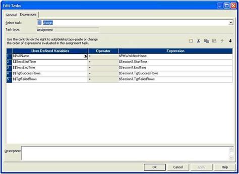 workflow variables in informatica how to assign values for workflow variables in informatica