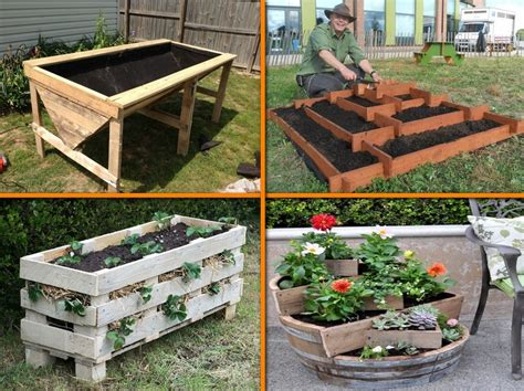 Gardening Pots And Containers 30 Stunning Low Budget Diy Garden Pots And Containers