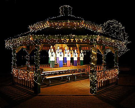 gazebo choir oshkosh celebration of lights photograph by