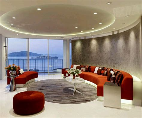 Ceiling Design Ideas For Living Room Rumah Rumah Minimalis Modern Interior Decoration Living