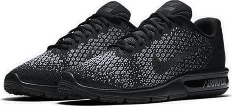 Nike Air Max Sequent 2 852461 001 Running Black Grey 1 nike air max sequent 2 852461 001 skroutz gr