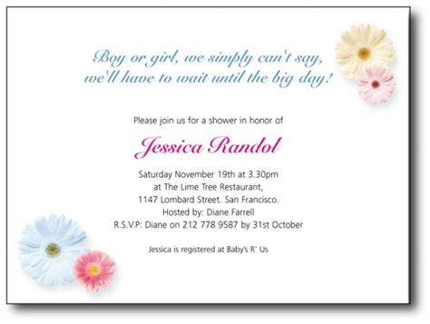 Baby Shower Invitation Message by Baby Shower Invitations Wordings Dolanpedia Invitations