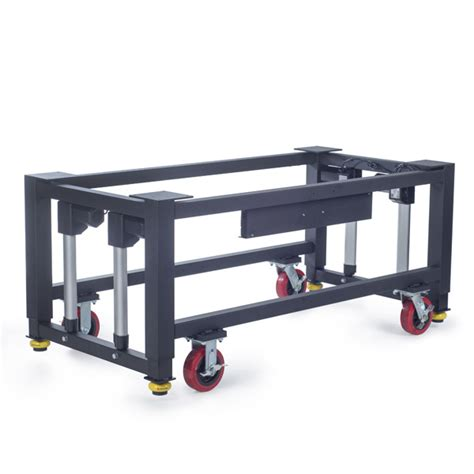 work bench on wheels modular height adjustable frame for machine base or