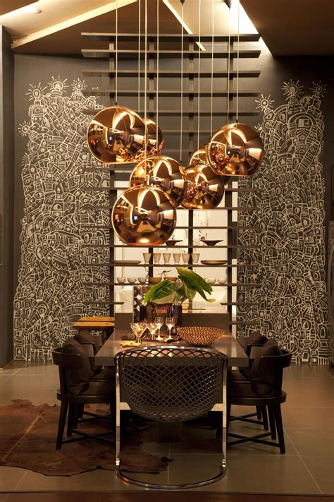 Gold Dining Room Light Fixtures Modern Pendants For Unique And Attractive Home Interior