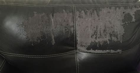 Repair Faux Leather by Repairing Leather Or Faux Leather Sofa Back Hometalk