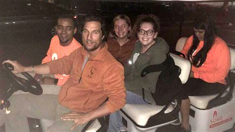 jenna bush university of texas at austin matthew mcconaughey pitches in to keep students safe at