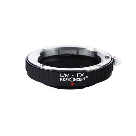 Kf Adapter Leica M Lens To Fuji Mirrorless leica m to fuji x mount adapter k f concept