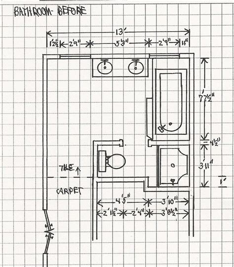 Modern Bathroom Floor Plans Nlt Construction Floor Plan Drawings Before Modern Bathroom