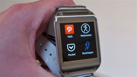 Jam Tangan Cerdas Android samsung galaxy gear jam tangan trendy dengan fitur cerdas