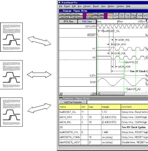 timing diagram editor timing diagram editor timingeditor elements for creation