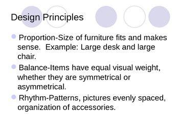 principles of design quiz powerpoint elements and principles of interior design powerpoint by