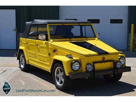 volkswagen thing 1973 volkswagen thing for sale classiccars com cc 905766