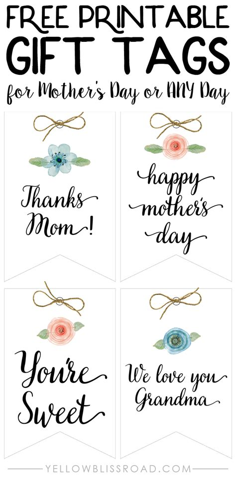 frugal life project free printable gift tags love the diy paper treat boxes and free printable tags yellow