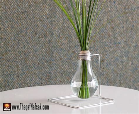 Test Tube Flower Vases فن التدوير أستغل أشيائك المهملة أفكار ابداعية بالصور