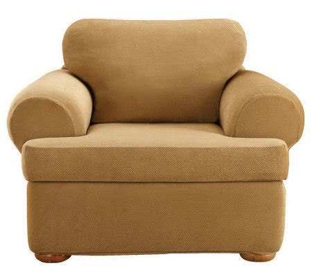 sure fit stretch pique 3 piece t cushion sofa sure fit stretch pique 3 piece t cushion chairslipcover