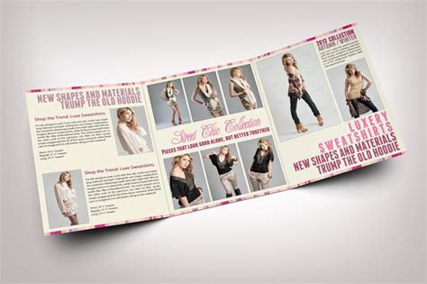 fashion brochure template fashion tri fold brochure graphicriver print templates