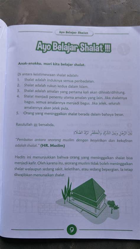 Buku Anak Belajar Wudhu Tayamum Shalat Sesuai Tuntunan Nabi buku anak ayo belajar shalat sesuai tuntunan nabi toko