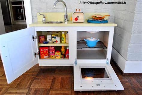 cucine da bambini come costruire una cucina in legno per bambini non sprecare