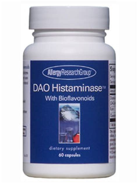 a supplement of dao product detail enzymes dao histaminase w bioflavonoids