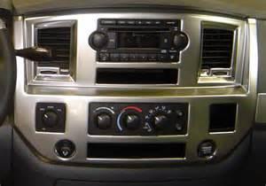06 07 08 09 10 dodge ram car stereo radio din installation dash kit panel ebay