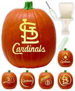 st louis cardinals pumpkin carving kit