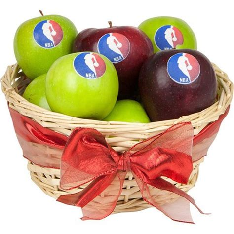 corporate apple gift basket corporate logo gift basket