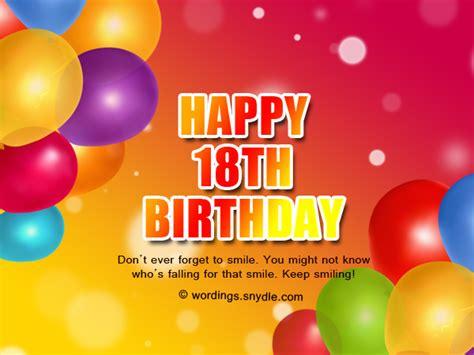 Happy 18th Birthday Wishes Happy 18th Birthday Wishes Www Imgkid Com The Image