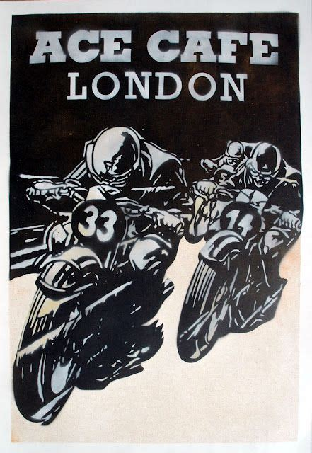 Poster Bingkau Kayu Cafe Racer 760 best images about great motorcycles posters and logos on